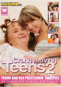 GRANNY LOVING TEENS 2-4 3 DVD COMBO