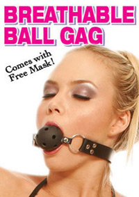 FF BREATHABLE BALL GAG