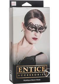 ENTICE MYSTIQUE MASK BLACK
