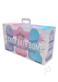PECKER BATH BOMB 3 PACK JASMINE