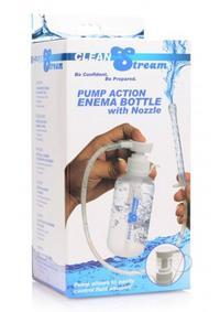 CLEANSTREAM PUMP ACTION ENEMA W/BOTTLE