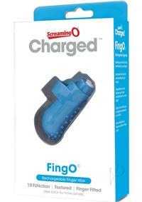 CHARGED FINGO VOOOM MINI VIBE BLUE