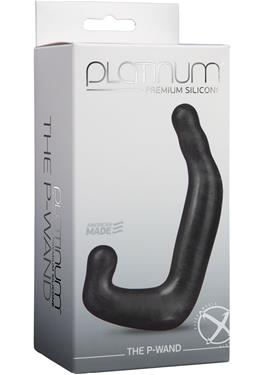 PLATINUM P WAND CHARCOAL