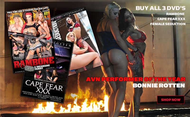 Bonnie Rotten DVDs | Pleasure Dome