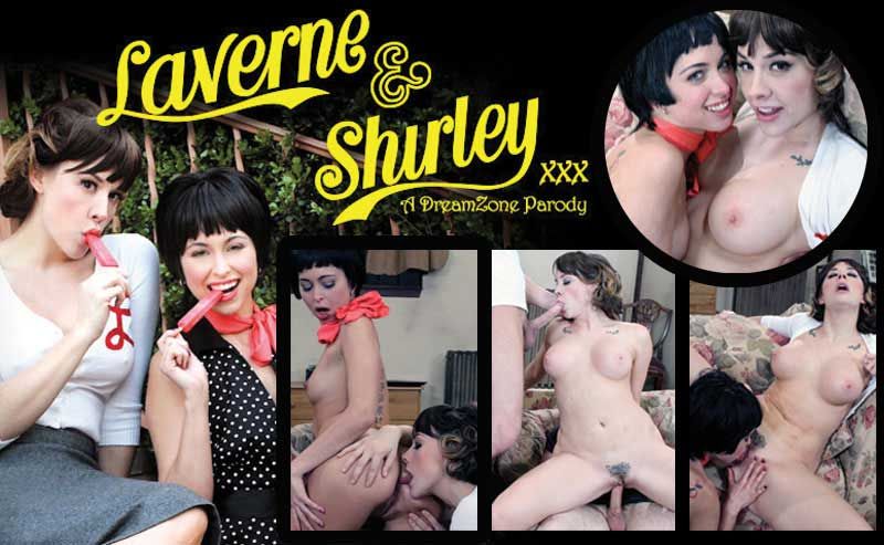 Lavern and Shirley XXX | Pleasure Dome
